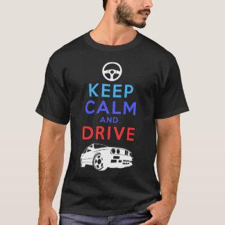 Houd Kalm en Aandrijving - M3 T Shirt
