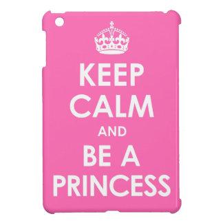 Houd Kalm en ben een MiniHoesje van de Prinses iPad Mini Hoesje