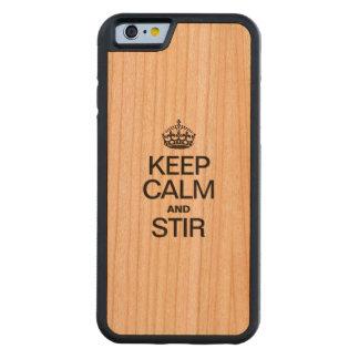 HOUD KALM EN BEWEEG KERSEN iPhone 6 BUMPER CASE