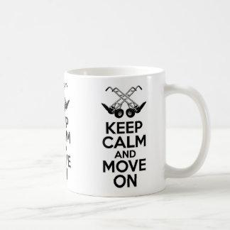 Houd Kalm en beweeg me Koffiemok