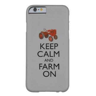 Houd Kalm en Boerderij Barely There iPhone 6 Hoesje