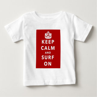 Houd Kalm en Branding Baby T Shirts