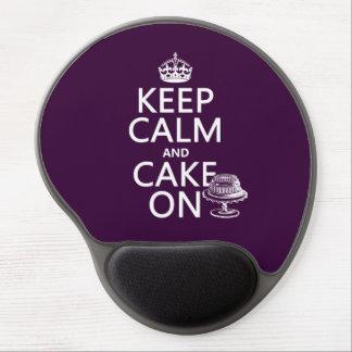 Houd Kalm en Cake Gel Muismat