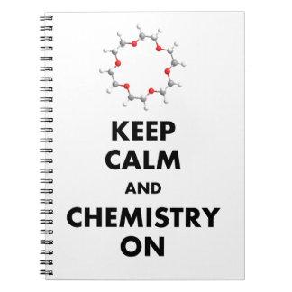 Houd Kalm en Chemie Notitieboek
