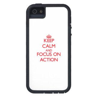 Houd kalm en concentreer me op ACTIE iPhone 5 Case-Mate Hoesjes