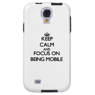Houd Kalm en concentreer me op Mobiel het Zijn