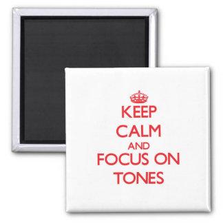 Houd Kalm en concentreer me op Tonen Magneten