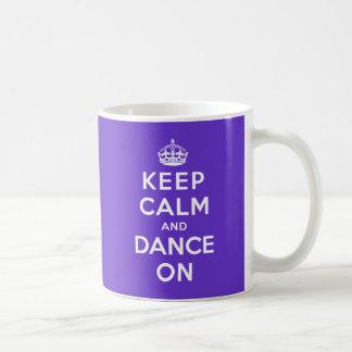 Houd Kalm en Dans Koffiemok