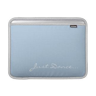 Houd Kalm en Dans op Lichtblauw MacBook Beschermhoes