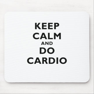 Houd Kalm en doe Cardio Muismat