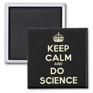 Houd Kalm en doe de Magneet van de Wetenschap