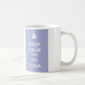 Houd Kalm en doe Yoga Koffiemok
