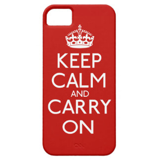 Houd Kalm en draag iPhone 5 Case