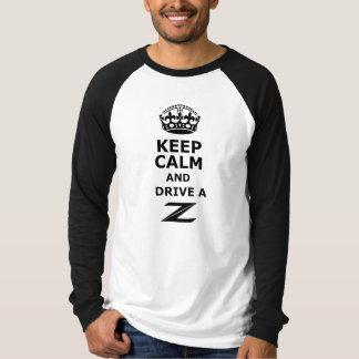 Houd Kalm en drijf Z T Shirt