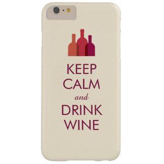 Houd Kalm en drink de Douane van de Wijn