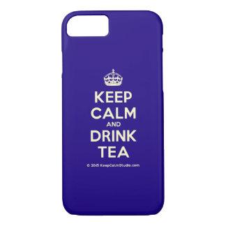 Houd Kalm en drink Thee iPhone 8/7 Hoesje