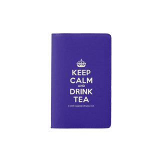 Houd Kalm en drink Thee Pocket Moleskine Notitieboekje