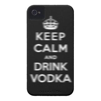 Houd kalm en drink wodka iPhone 4 hoesje