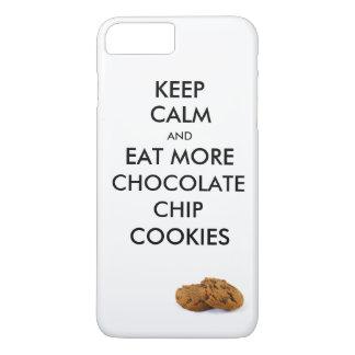 Houd Kalm en eet meer Koekjes van de iPhone 8/7 Plus Hoesje