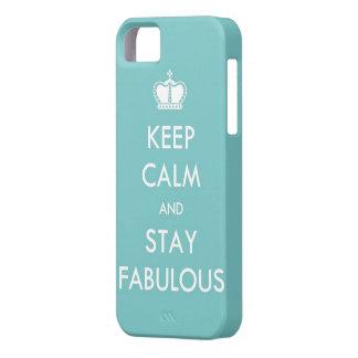Houd Kalm en Fabelachtig Verblijf Barely There iPhone 5 Hoesje