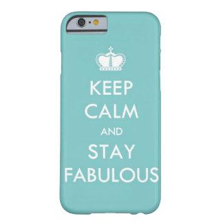 Houd Kalm en Fabelachtig Verblijf Barely There iPhone 6 Hoesje
