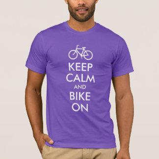 Houd Kalm en Fiets T Shirt