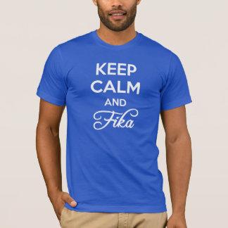 Houd Kalm en FIKA T Shirt