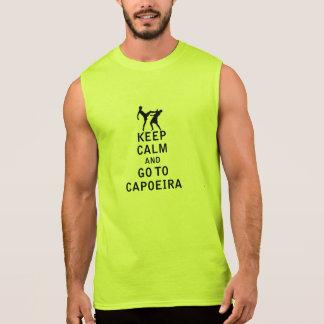 Houd Kalm en ga naar Capoeira T Shirt