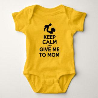 Houd Kalm en geef me aan Mamma Romper