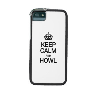 HOUD KALM EN GEHUIL iPhone 5 HOESJES