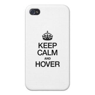 HOUD KALM EN HANG iPhone 4/4S HOESJE