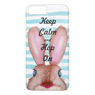 Houd Kalm en Hop iPhone 7 Plus Hoesje