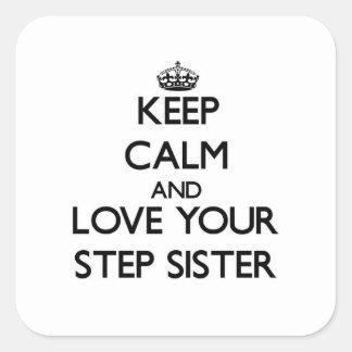 Houd Kalm en houd van uw Halfzuster