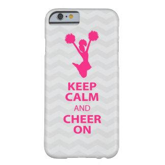 HOUD KALM en JUICH - Roze - iPhone 6 hoesje toe Barely There iPhone 6 Hoesje