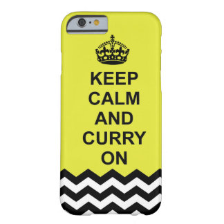 Houd kalm en Kerrie op telefoonhoesje Barely There iPhone 6 Hoesje