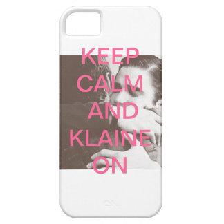 Houd Kalm en Klaine Barely There iPhone 5 Hoesje