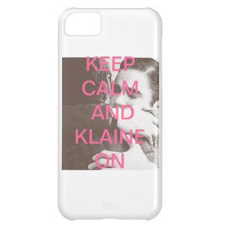 Houd Kalm en Klaine iPhone 5C Hoesje