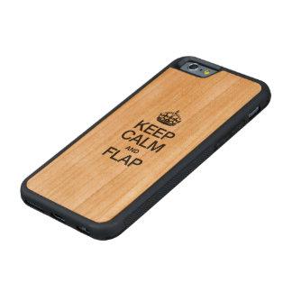 HOUD KALM EN KLEP KERSEN iPhone 6 BUMPER CASE