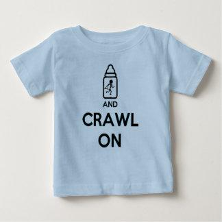 Houd Kalm en kruip - TweelingB Baby T Shirts