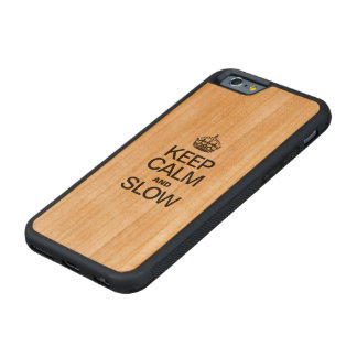 HOUD KALM EN LANGZAAM KERSEN iPhone 6 BUMPER CASE