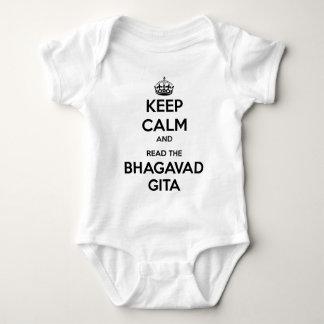 Houd Kalm en lees Bhagavad Gita Romper