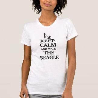 Houd kalm en loop de Brak T Shirt