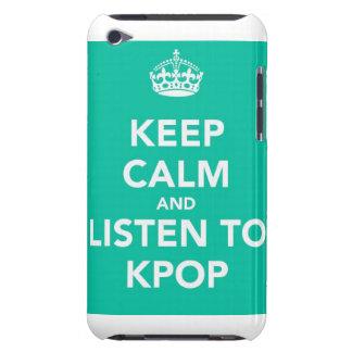 Houd Kalm en luister aan Kpop~ iPod Touch Hoesje