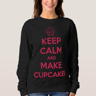 Houd kalm en maak cupcakes trui