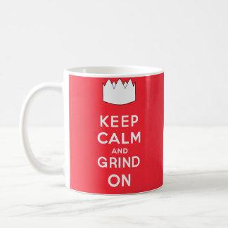 Houd Kalm en Malen Koffiemok