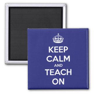 Houd Kalm en onderwijs op Blauw Magneet