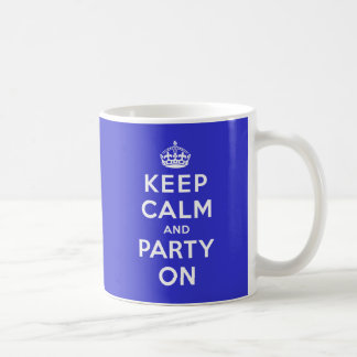 Houd Kalm en Partij Koffiemok
