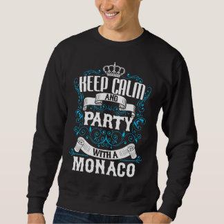 Houd Kalm en Partij met een Verjaardag MONACO.Gift Trui