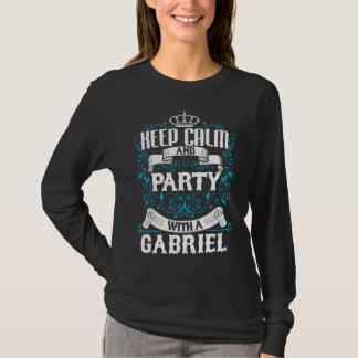 Houd Kalm en Partij met een Verjaardag T Shirt