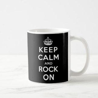 Houd Kalm en Rots Koffiemok